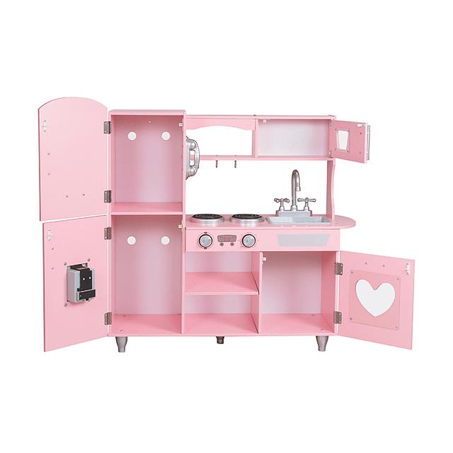 Full Kitchen Rosada C/Accesorios