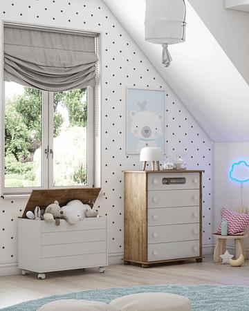 Baúl madera Blanco/Eco wood