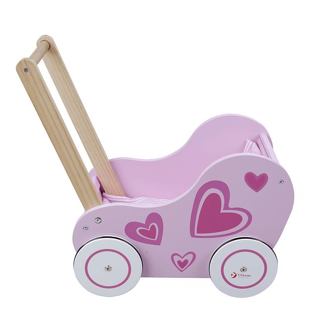 Caminador de madera niña
