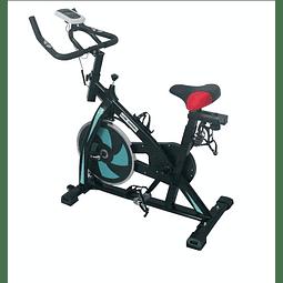 Bicicleta De Spinning Modelo Cf1317, Blue, Live Sport