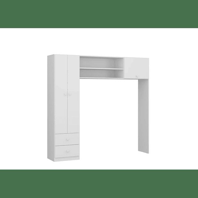 Ropero 3 Puertas Blanco Essencial