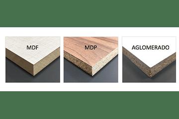 ¿Qué es la madera MDF, la MDP y por qué la usamos?