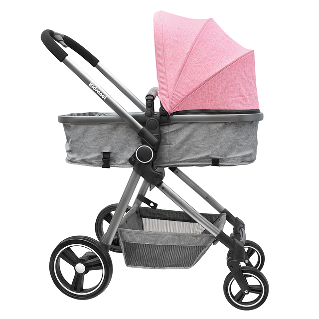 Coche Compact Travel System Rosado