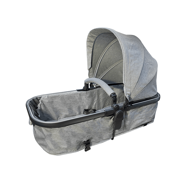 Coche Compact Travel System Gris