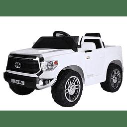 Camioneta a batería Tundra Blanca
