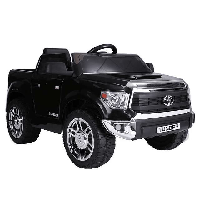 Camioneta a batería Tundra Negra