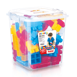 Blocks Encaje Jumbo 100 Pcs