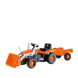 Tractor A Pedales Maxi Ranch Naranjo