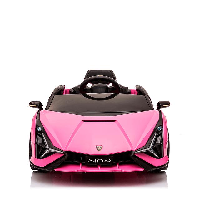 Lamborghini Sian Bateria Rosado