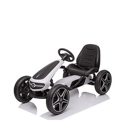 Go Kart Mercedes Benz Blanco