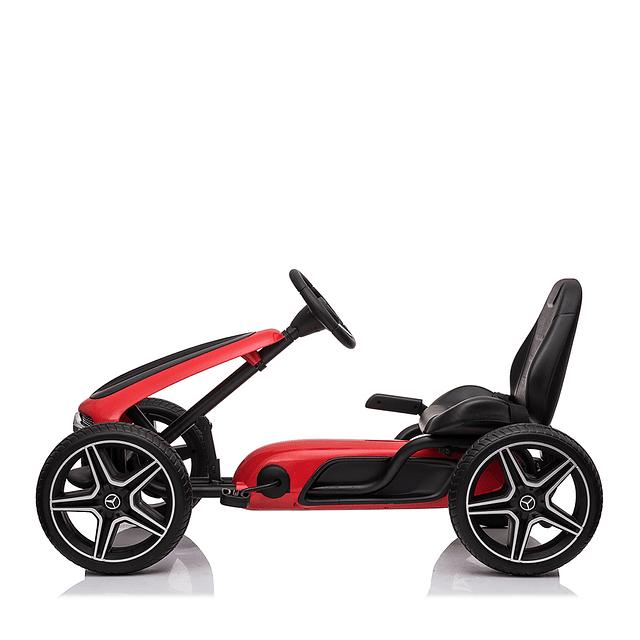 Go Kart Mercedes Benz Rojo