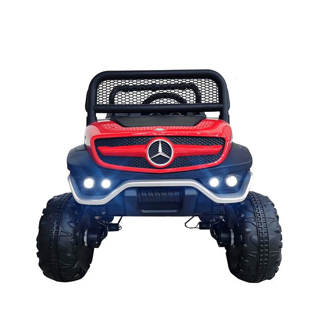 Mercedes Unimog Concept Bateria Rojo