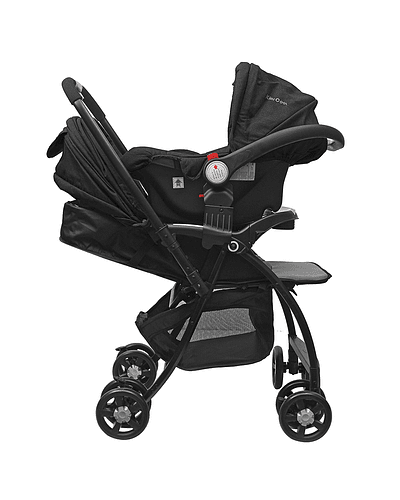 Coche Travel System Negro