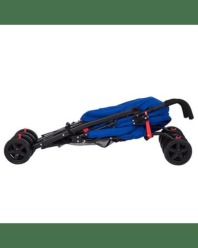 Coche Paragua 5 Posiciones Azul