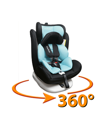 Silla de auto 360° Fresh Blue