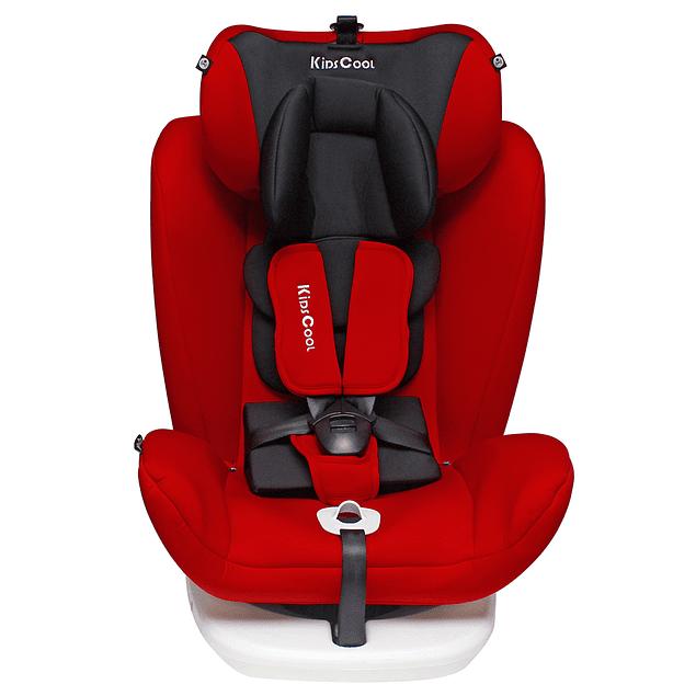 Silla de auto 360° Rojo