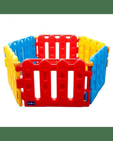 Corral de pelotas plástico