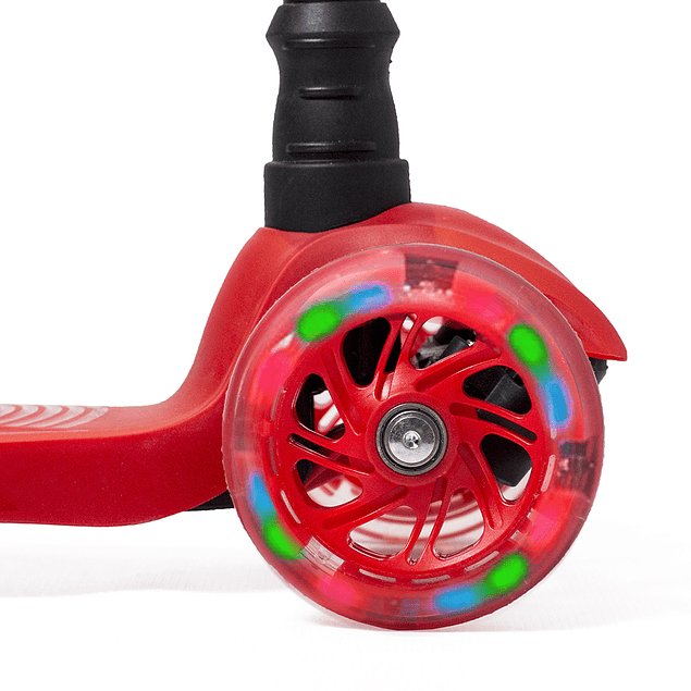 Micro Scooter LED Rojo