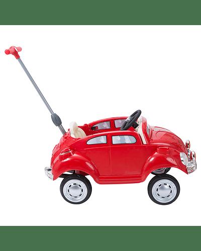Pushing Car Rojo