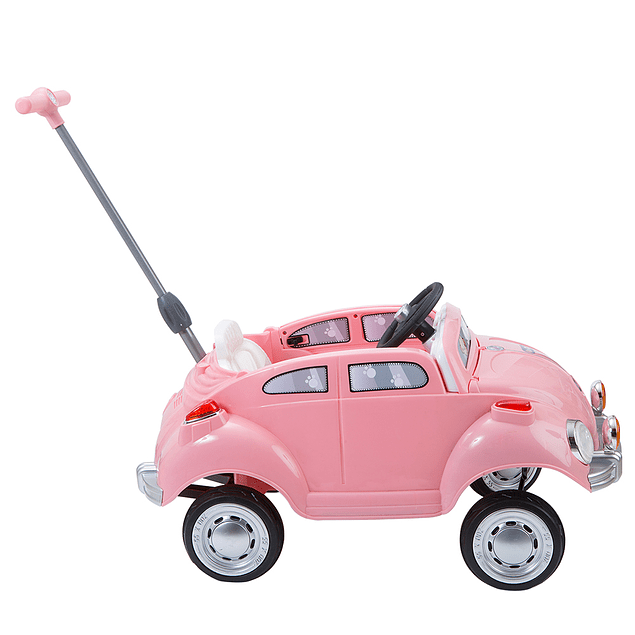 Pushing Car Rosado