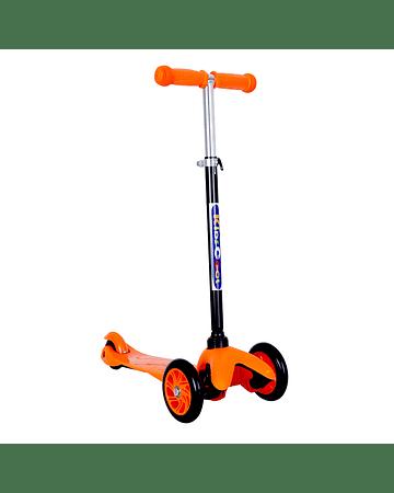Micro Scooter 3 ruedas Naranjo