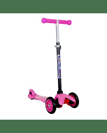 Micro Scooter 3 ruedas Rosado