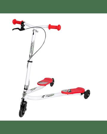Scooter 3 ruedas modelo Tijera Rojo
