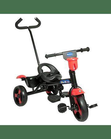 Triciclo 2 en 1 Rojo