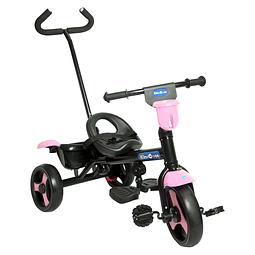Triciclo 2 en 1 Rosado