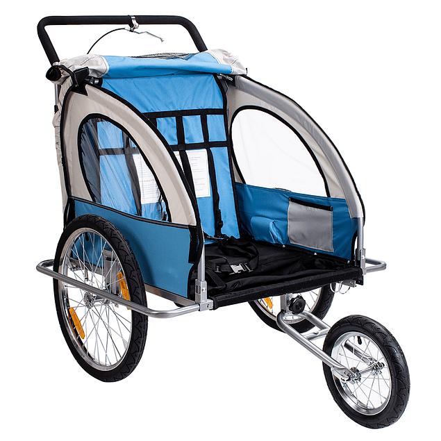 Baby Trailer Azul