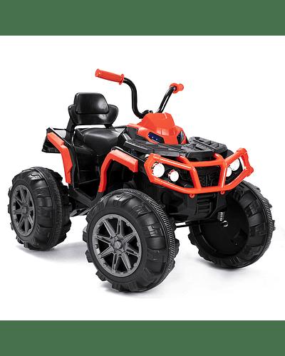 Monster Moto 4 ruedas Rojo