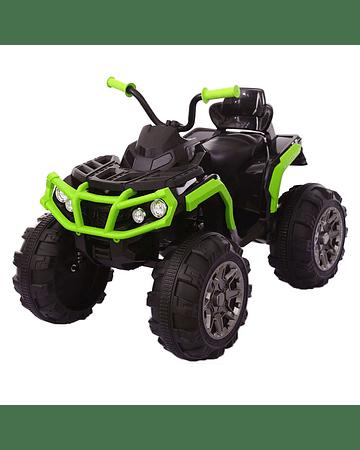 Monster Moto 4 ruedas Verde