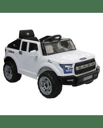 Camioneta a batería OFF Road Blanco