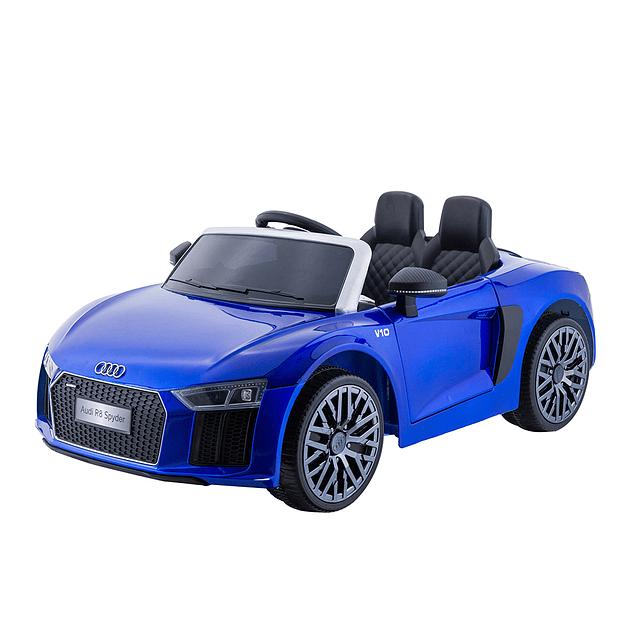 Auto a Batería Audi Spyder Azul