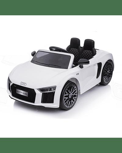 Auto a Batería Audi Spyder Blanco