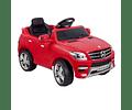 Jeep a Batería Mercedes Benz Rojo