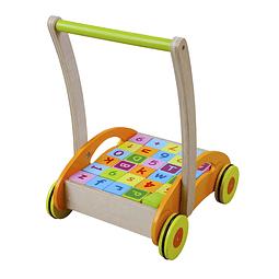 Caminador de madera con blocks