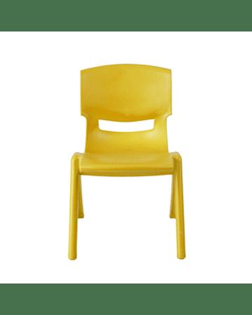 Sillas Plásticas Amarillo