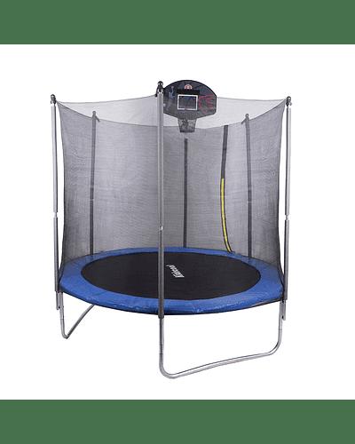 Cama elástica 10 pies Aro Basketball