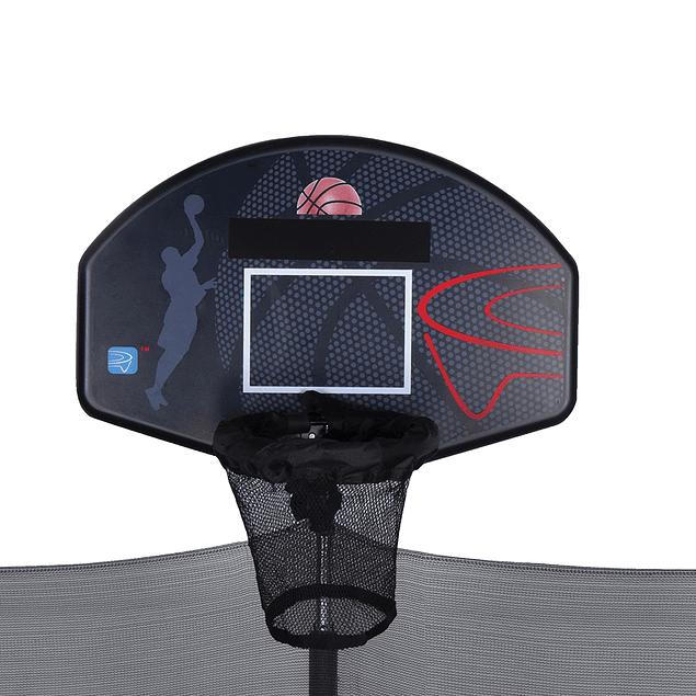 Cama elástica 8 pies Aro Basketball