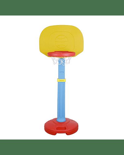 Aro de basquetball ajustable