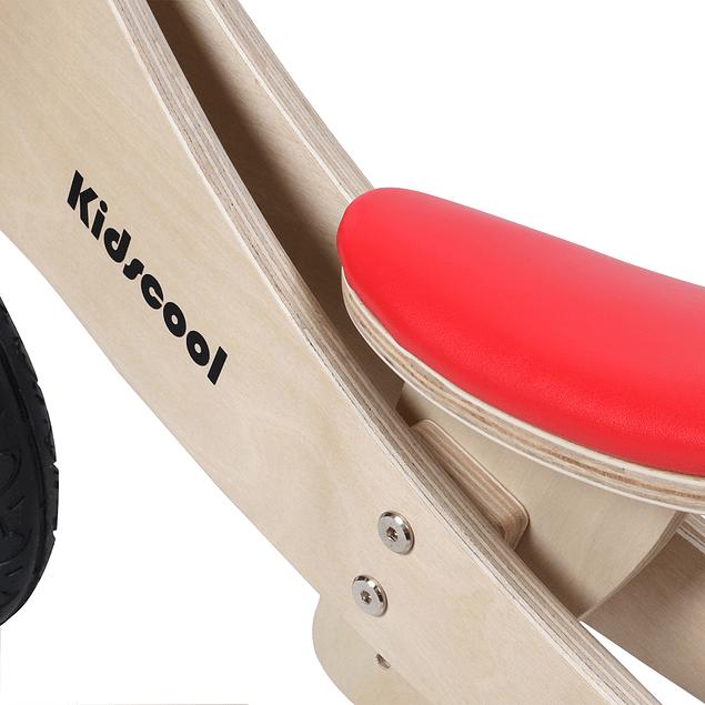 Triciclo de Madera 2 en 1 Rojo