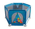 Corral Safety Fence con pelotas