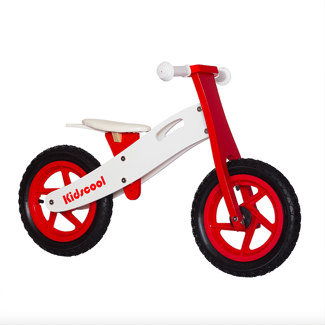 Bicicleta de Aprendizaje New Riders Red/White