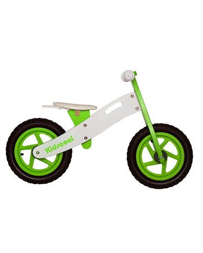 Bicicleta de Aprendizaje New Riders Green/white