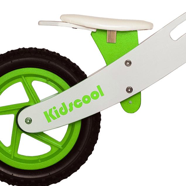 Bicicleta de Aprendizaje New Riders Green/white