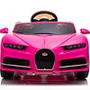 Bugatti a batería Rosado