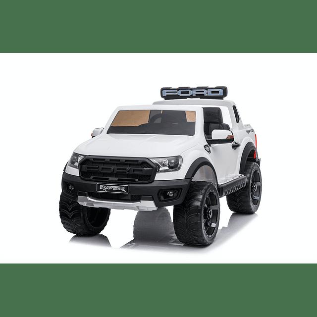 Camioneta Ford raptor Blanca