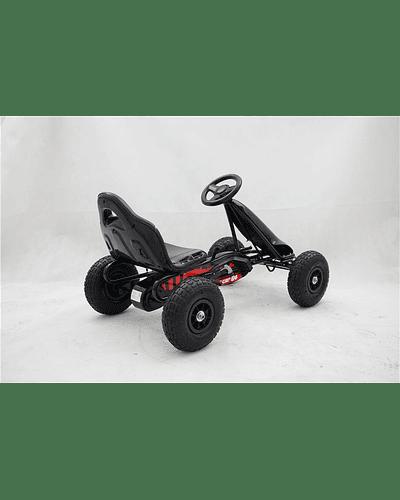 Go Kart a pedales Negro 1