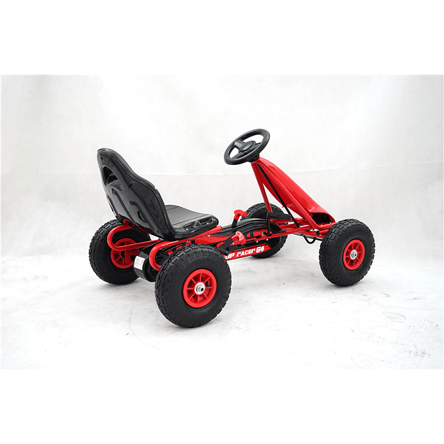 Go Kart a pedales Rojo